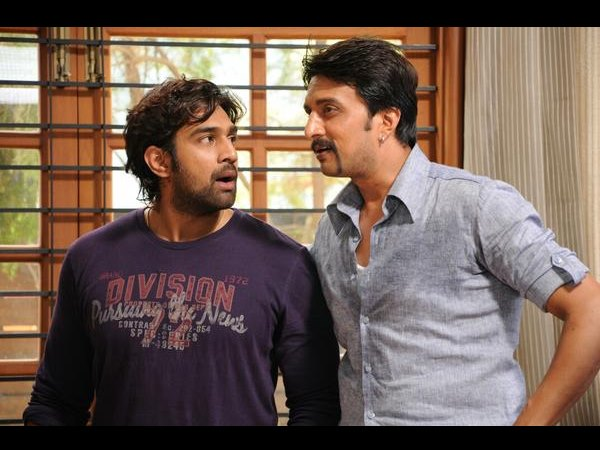 Sudeep And Chiru