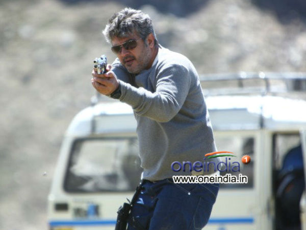 Combination Of Ajith, Nayantara And Vishnuvardhan