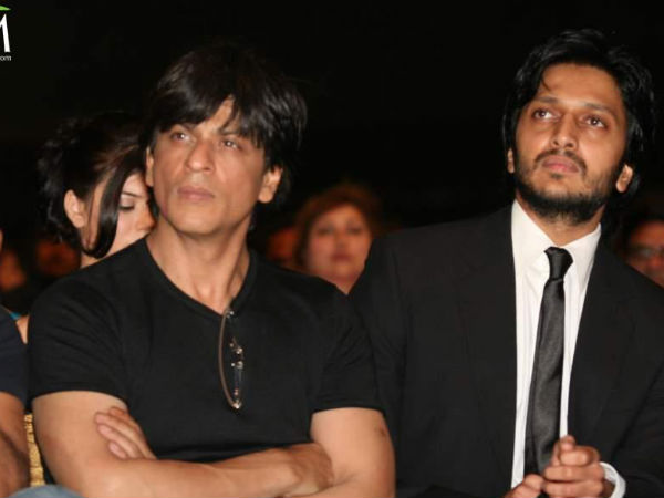 SRK and Riteish