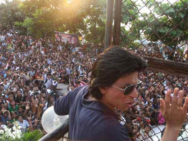 Shahrukh Thanked Fans