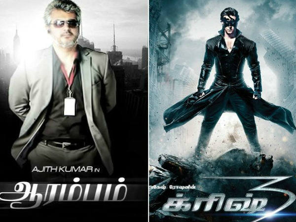 Box Office Collection: Krrish 3 Survives The Battle In TN