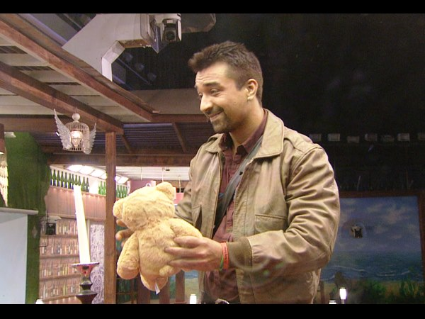 Ajaz Khan Comes With A Gift