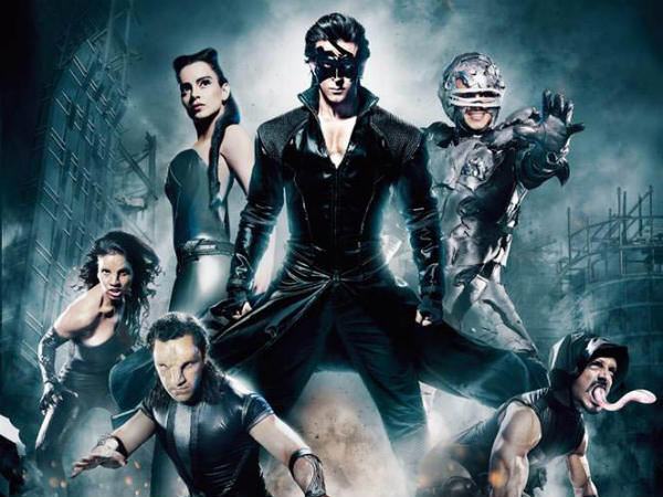 Krrish 3 Running Successfully in 90 + Prints