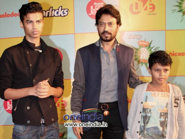 Irrfan Khan With Kids
