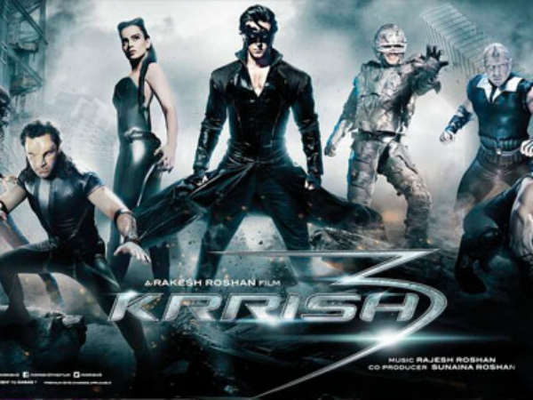 Krrish 3 second week collection box office report 14 days business hrithik roshan filmibeat - Krrish box office collection ...