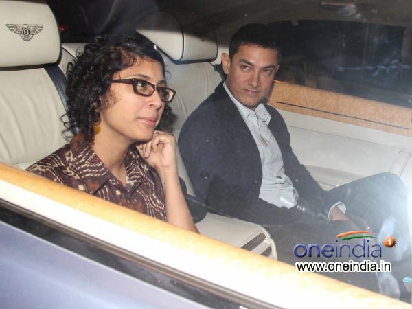 Aamir, Kiran Rao At  Sachin Tendulkar's Farewell Bash