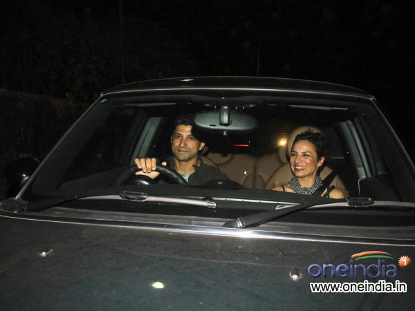 Farhan Akhtar At Sachin Tendulkar's Farewell Bash