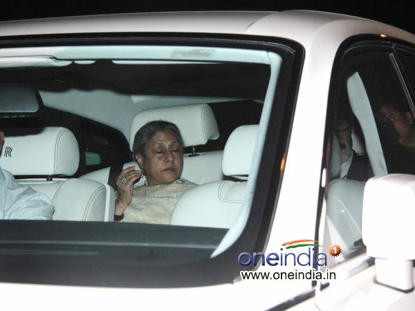 Jaya Bachchan At Sachin Tendulkar's Farewell Bash