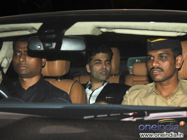 Karan Johar At Sachin Tendulkar's Farewell Bash