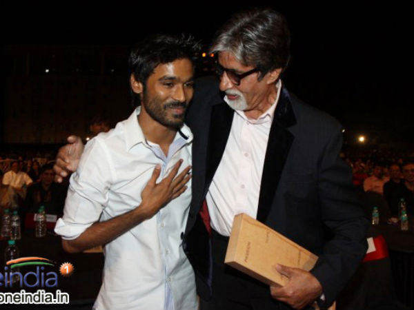 Dhanush Thrilled To Work With Big B