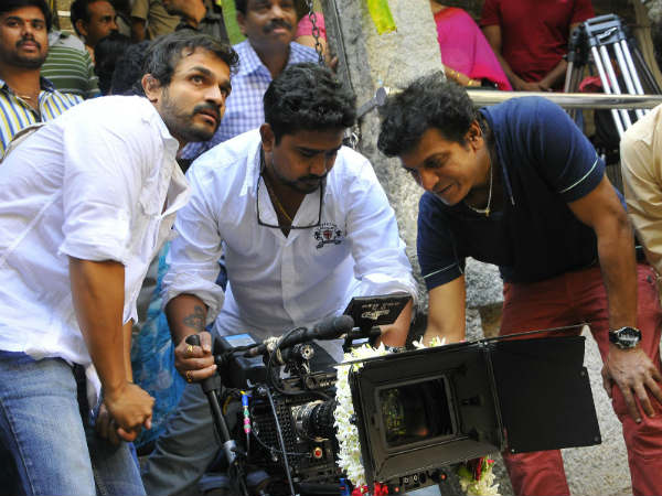 SRK Starts Camera For Kismat
