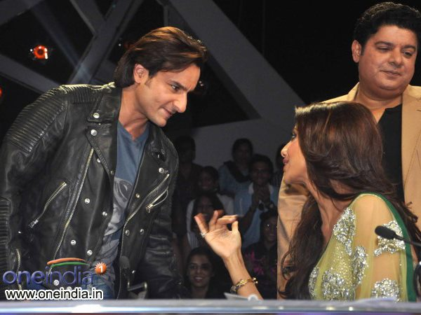 Saif With Shilpa