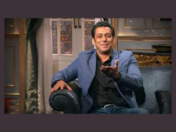 Salmaan shocked And Blushing!