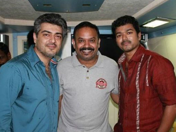 Venkat Prabhu To Meet Ajith-Vijay Soon