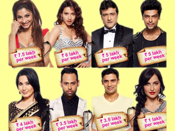 Pay Details Of Bigg Boss 7 Contestants