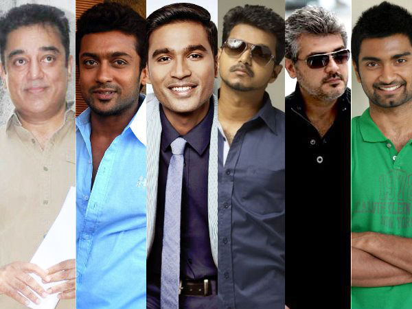 Whom Do You Like To Choose Among These Actors?