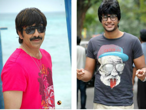Ravi Teja and Sundeep