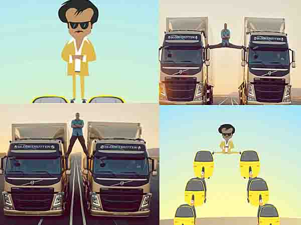 Watch Rajinikanth's Epic Split Video