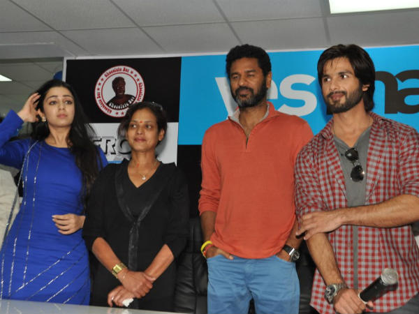 Shahid Kapoor At R... Rajkumar Promotion