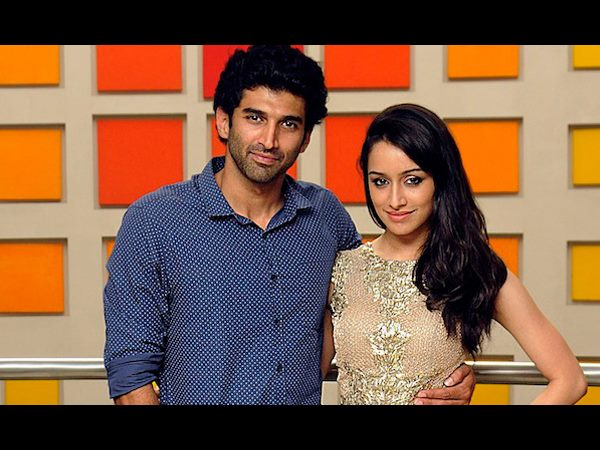 Aditya and Shraddha