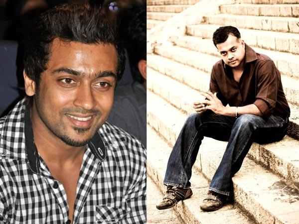 Gautham Menon and Surya
