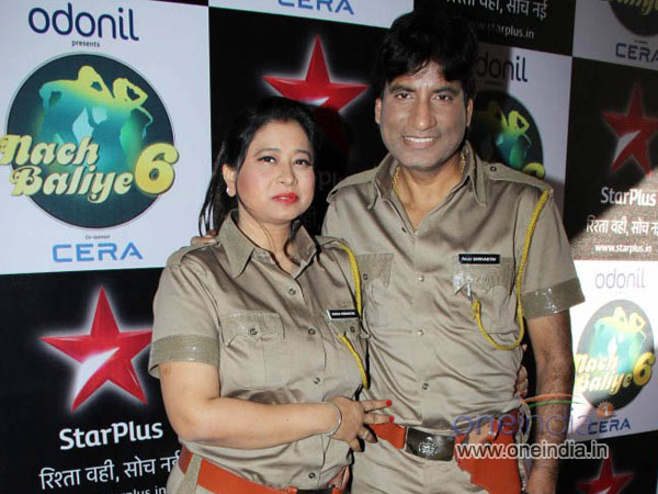 Raju And Shikha Shrivastav