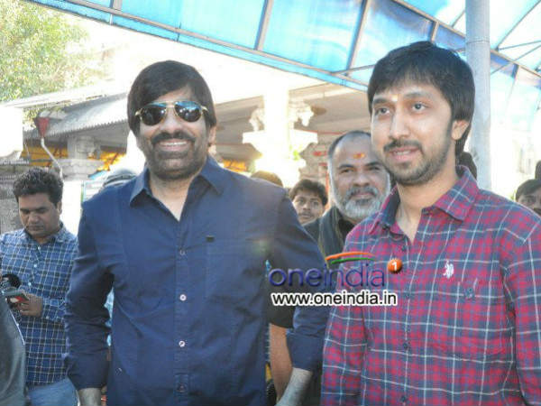 Photos: Ravi Teja Launches His New Film With Bobby On 11/12/13 ...