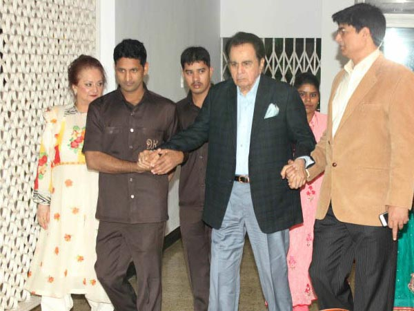 Dilip Kumar Attends Party