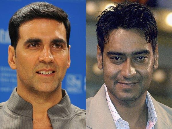 Ajay Devgn vs Akshay Kumar: Here's the latest! | Movies News  |Akshay Kumar And Ajay Devgan
