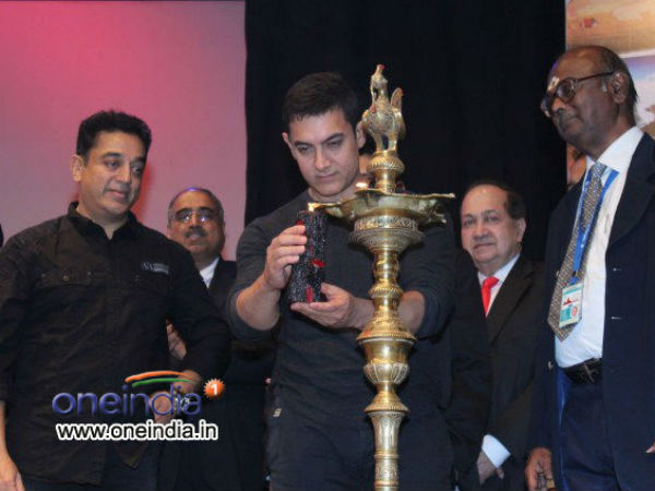 Aamir Khan-Kamal Hassan Together At CIFF