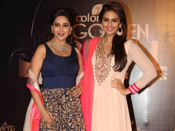 Madhuri And Huma