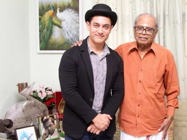 Aamir Khan Bonds With K Balachander