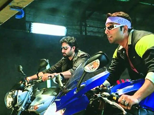 Suzuki Bikes In Dhoom and Dhoom 2