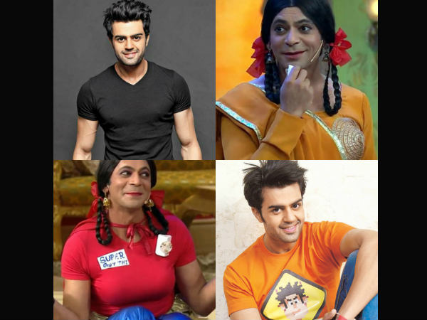 Manish Paul Not With Sunil Grover