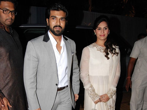 Ram Charan With Wife Upasana
