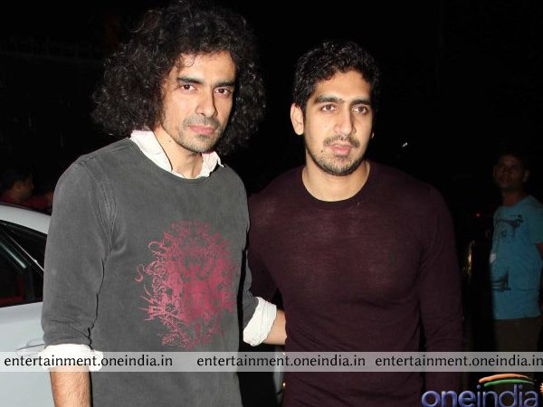 Imtiaz Ali And Ayan Mukherjee  At The Screening Of The Wolf Of Wall Street