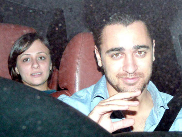 Imran Khan Attended The Function With Wife Avantika
