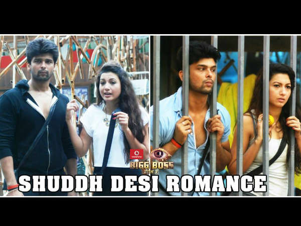 Kushal And Gauhar Budding Love