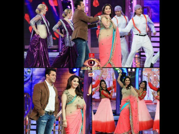 Salman And Madhuri