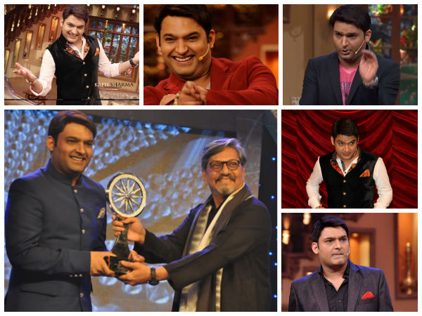 Kapil Beats SRK, Becomes Indian Of The Year 2013!