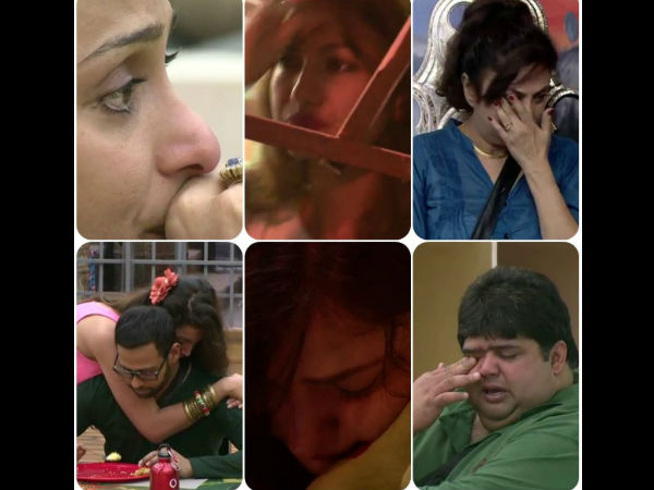 Cry Babies Of Bigg Boss 7