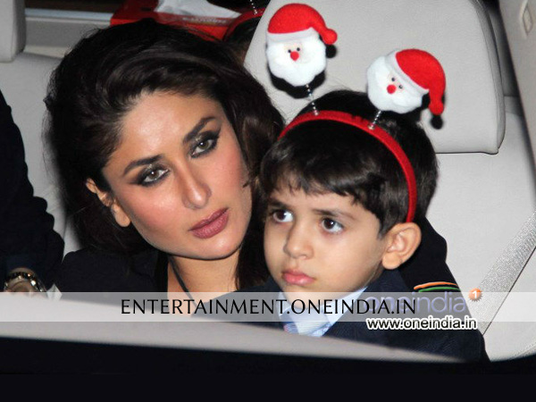 Kareena Kapoor Celebrating Christmas
