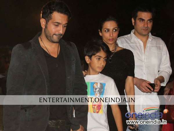 Malaika Arora Khan And Family Celebrating Christmas