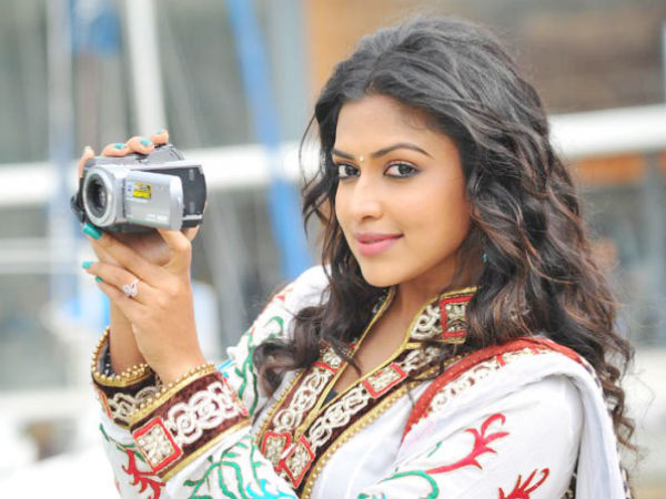 Amala Paul In Second Spot