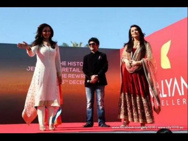 Manju Warrier, Aishwarya Rai Bachchan At Dubai, Kalyan Jewellers