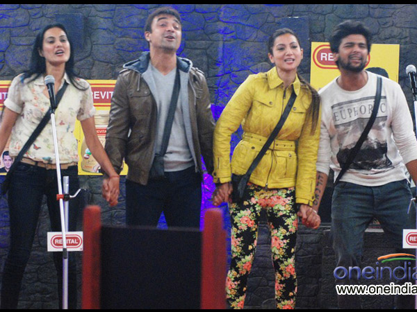 Moments Close For Gauhar And Kushal