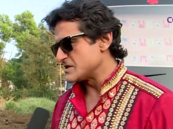 Armaan Kohli With The Press Outside Bigg Boss Sets