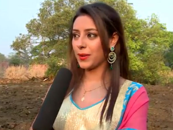 Pratyusha During Making Of Grand Finale