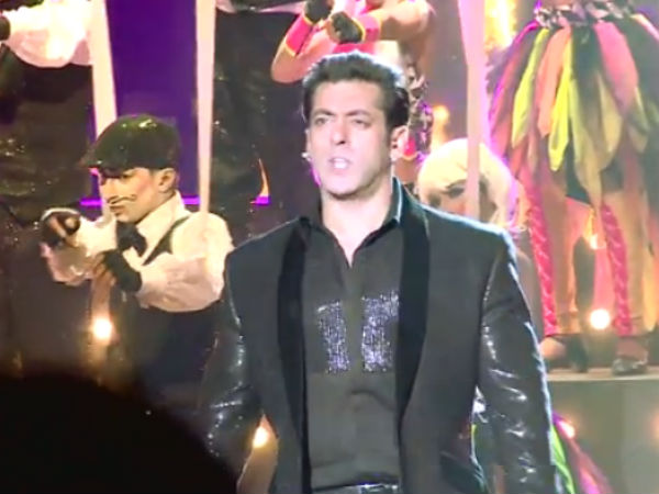 Salman Khan Not Dancing With Andy