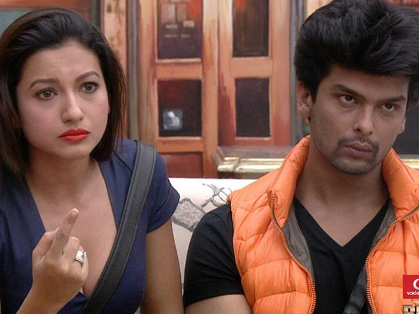 Gauhar Stood Against Salman